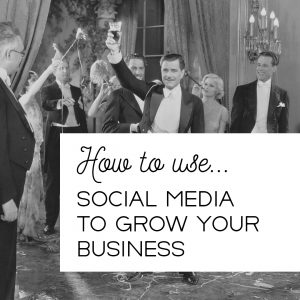 A blog about using social media to grow your business. There are five ways to use social media.
