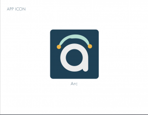 ARC Icon or submark to show how it would look in an app store or as an app icon.